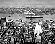 'Queen Elizabeth' at New York, 1956