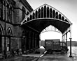 Woodside Railway Station, Birkenhead, Goods entrance, 1940s