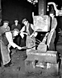 Forge work at Cammell Lairds, 1957
