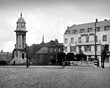 Central Hotel and Edward VII Memorial Clock, Birkenhead, 1940s