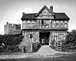 Stokesay Castle, Shropshire, taken some time in the 1900s